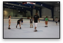 Hockey Camp Off Ice Instruction